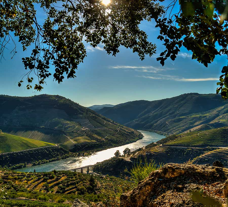 Douro superior river