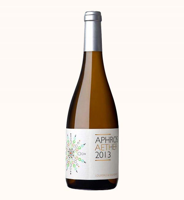 Ekologiskas baltas vynas Aphros