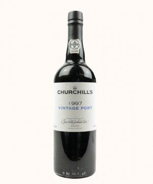 1997 metų vynas. Churchill's Porto vynas