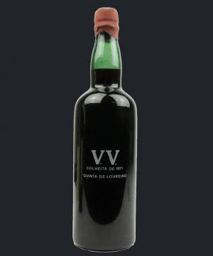 1871 metų vynas. Quinta De Loureiro VV 1871 Colheita
