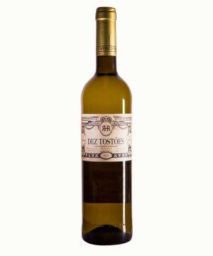 Baltas sausas vynas Dez Tostões 2020 0.75 l