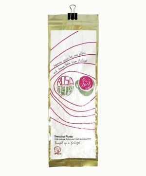 Žalioji arbata su Rožių žiedlapiais Sencha Rosa BIO 80 g