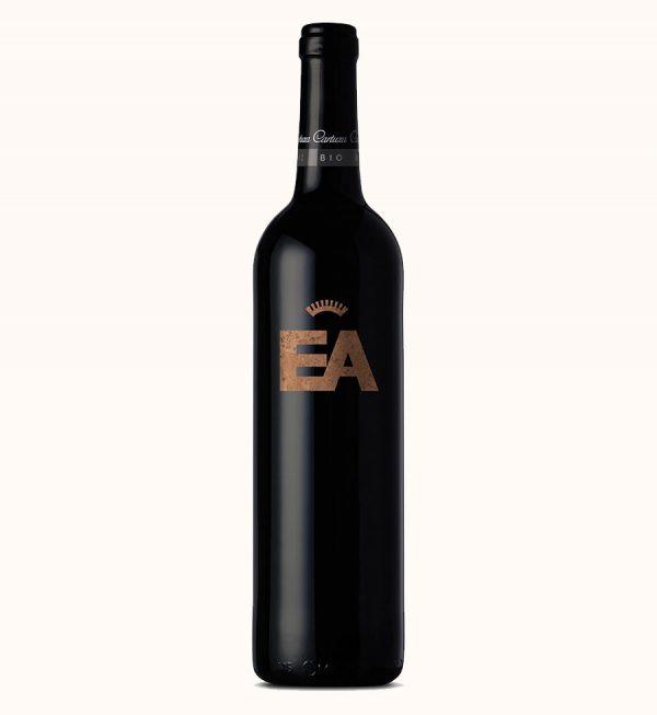 raudonas organinis vynas