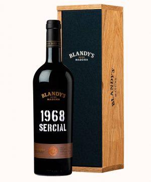 Madeiros vynas 1968 Blandy's SERCIAL 0.75 l