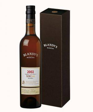 Madeiros vynas 2002 BLANDY'S Colheita SERCIAL 0.50 l