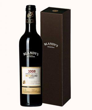 Madeiros vynas 2008 BLANDY'S Colheita VERDELHO 0.50 l