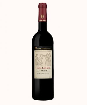 Sausas vynas raudonas Vinha Grande Tinto 2018 0.75 l