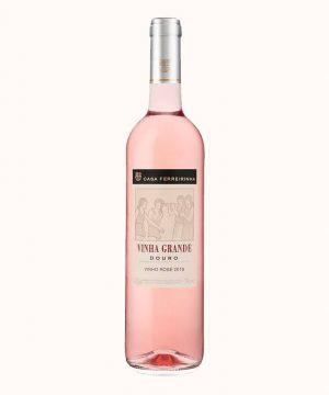 Rožinis sausas vynas Vinha Grande Rose 2019 0.75 l