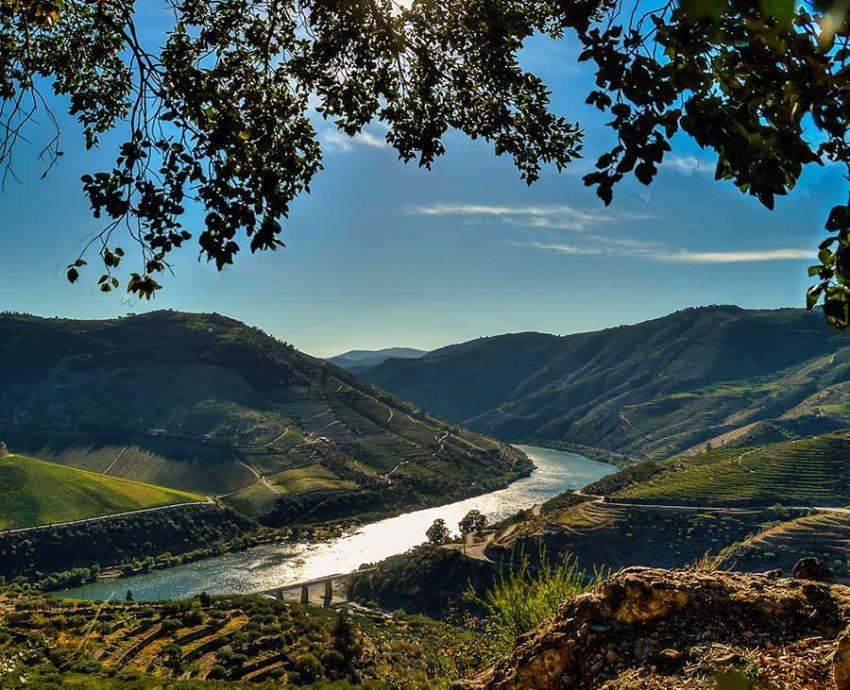 Douro superior river